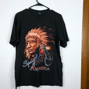 Tops - Vintage Spirit of America shirt Sz L
